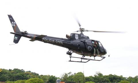 Grupamento aéreo da Polícia Civil completa 441 operações em 4 anos