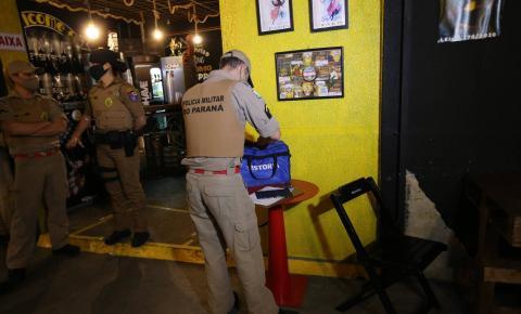 Ação integrada fiscaliza e fecha bares durante a pandemia