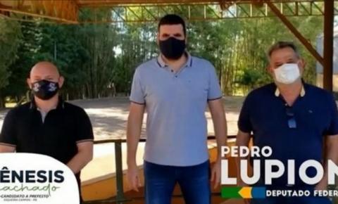 Pedro Lupion declara apoio à Genesis Machado