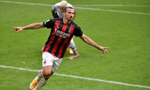 Ibrahimović testa positivo para covid-19 e desfalca o Milan nas eliminatórias da Liga Europa