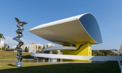 """MON é um dos cinco museus mais """"instagramados"""" do Brasil"""