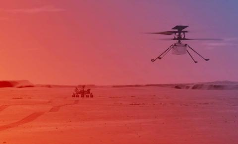 Nasa anuncia primeira tentativa de voo em Marte de helicóptero Ingenuity para abril; Veja plano de voo