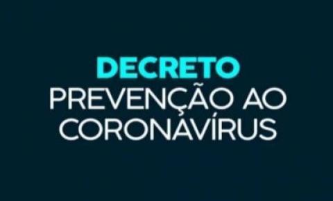 Novo decreto determina fechamento de comércio na sexta-feira santa e domingo de páscoa em Siqueira Campos