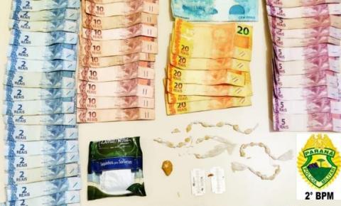 ROTAM prende indivíduos e apreende drogas em Siqueira Campos