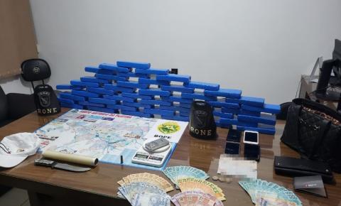 Operação Pronta Resposta III apreende grande quantidade de drogas em Santo Antônio da Platina
