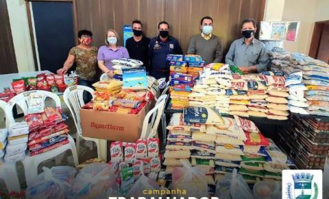 Campanha do Trabalhador Solidário arrecadou quase 1 tonelada de alimentos