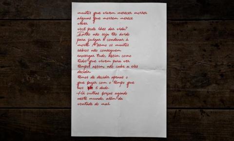 Carta encontrada em esconderijo de Lázaro choca; saiba o que ele escreveu