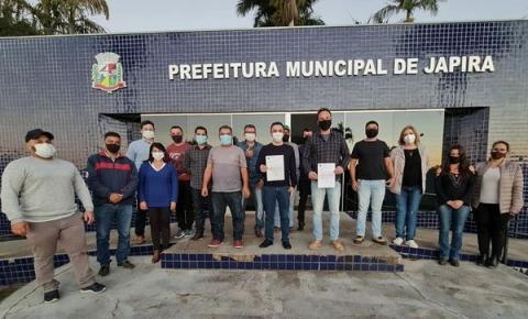Japira solicita R$400 mil para área da Saúde e aquisição de dois ônibus escolares
