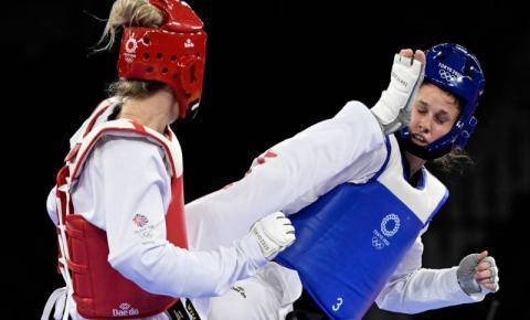 Matea Jelic, croata que venceu brasileira nas quartas, conquista ouro no taekwondo até 67 kg