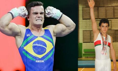 Ginasta Caio Souza disputará final em Tóquio na quarta-feira