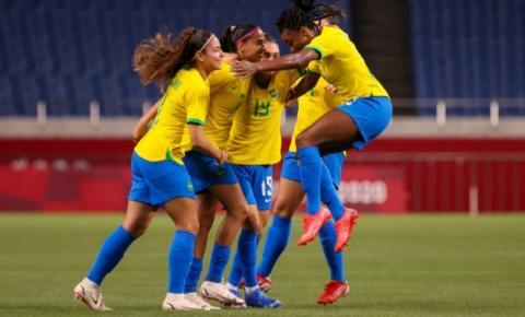 Com gol de Andressa Alves, Seleção Feminina vence a Zâmbia e enfrenta o Canadá nas quartas