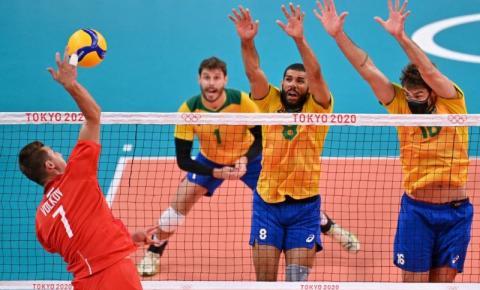 Bruninho e Renan Dal Zotto analisam derrota do Brasil para os russos no vôlei
