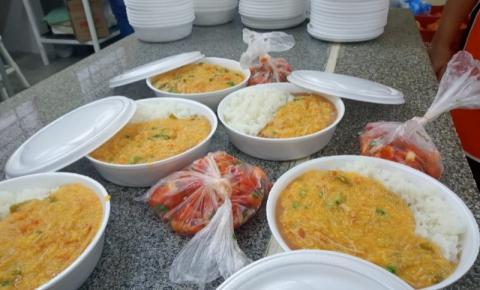 Campanha Marmitex Solidária distribui refeições prontas para famílias em Ibaiti