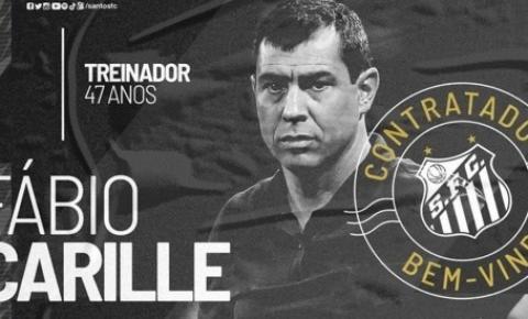 Carille fala em 'gratidão eterna' ao Santos e elogia elenco: