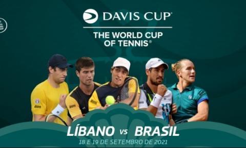 Brasil começa semana de treinos para a Copa Davis no Líbano