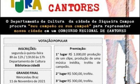 Diretor de Cultura de Siqueira Campos, Flávio Mello, fala sobre o  1º Festival Musical Regional