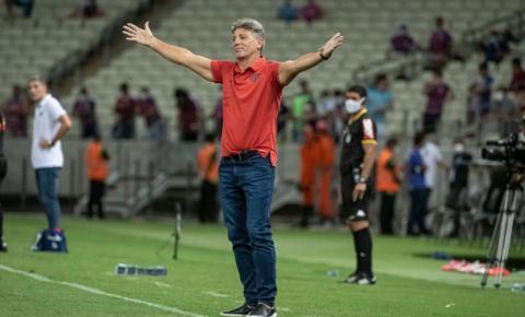 Renato Gaúcho defende opção por poupar jogadores no Flamengo