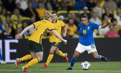 Marta avalia desempenho da Seleção contra a Austrália