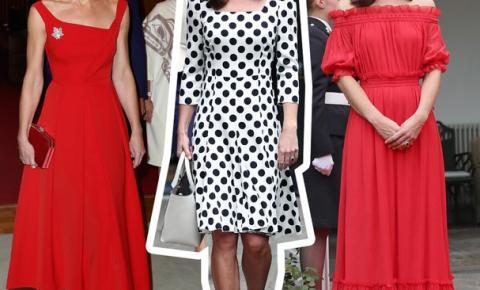 Os 10 looks mais deslumbrantes já usados por Kate Middleton