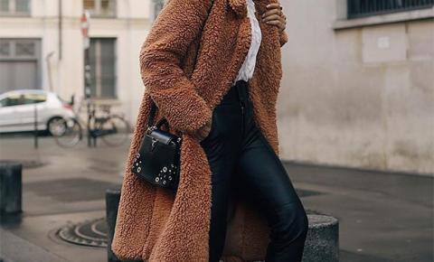 Frio? Casacos de pelúcia são a opção divertida para o inverno