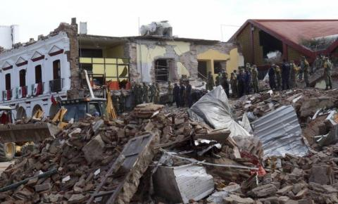 Sobe para 17 o número de mortos em terremoto na Indonésia.