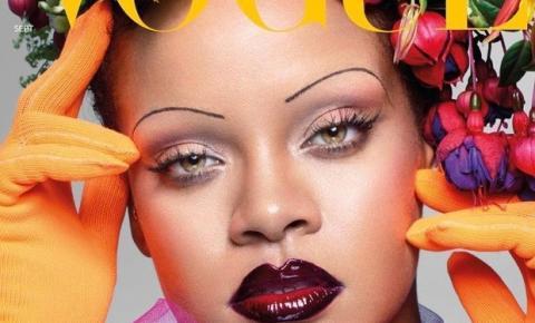 Sobrancelhas finas: Rihanna e o polêmico retorno do visual