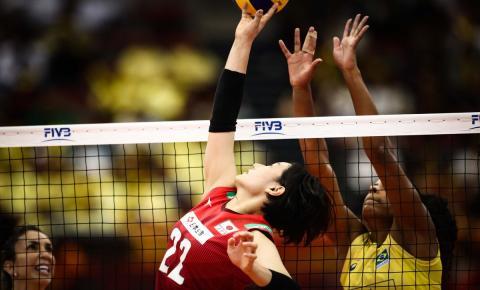 Brasil vence o Japão, mas dá adeus ao Mundial de vôlei feminino