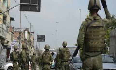Forças Armadas e Polícia Federal fazem operação no Rio de Janeiro