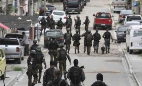 Forças de Segurança voltam a fazer operações no Salgueiro