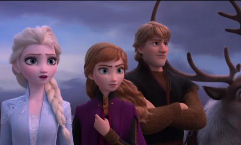 Elsa testa poderes no primeiro teaser de Frozen 2
