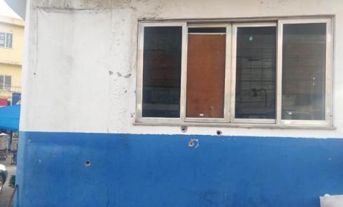 Posto policial de Santa Luzia é atacado a tiros por bandidos