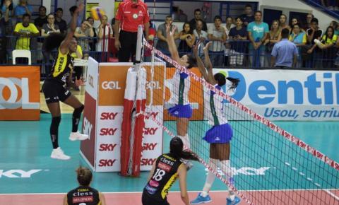 Superliga abre venda de ingressos para primeiro jogo da decisão feminina