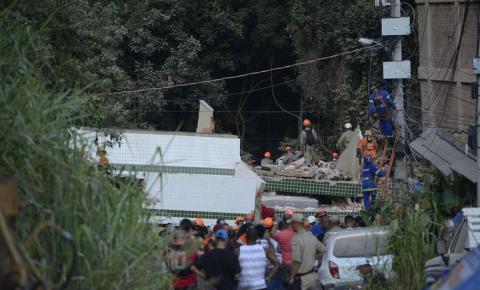 Desabamento na Muzema, no Rio, ainda tem 9 pessoas desaparecidas
