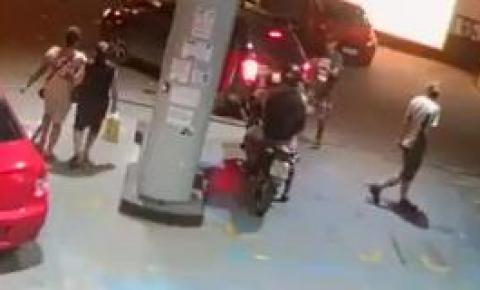 Câmeras registram ação de criminosos