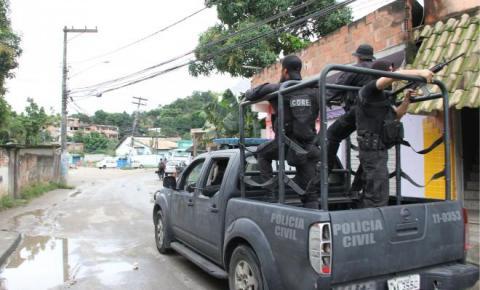 Sete presos no Morro do Castro