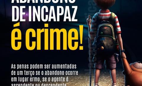 Homem sai para beber com filho de quatro anos e é preso por abandono de incapaz em Siqueira Campos
