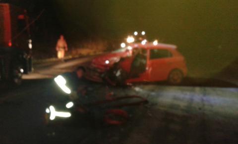 Dois acidentes foram registrados na PR 092, uma pessoa morreu