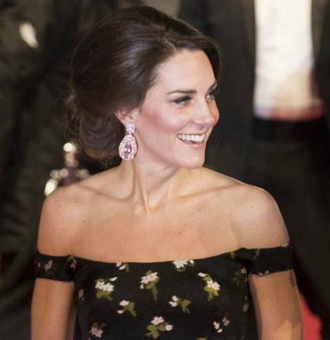 Guarda-roupa de princesa: consegue adivinhar quanto Kate Middleton gastou em roupas em 2017?