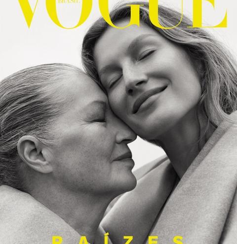 Gisele Bündchen é protagonista de nossa edição de outubro, Vogue Raízes